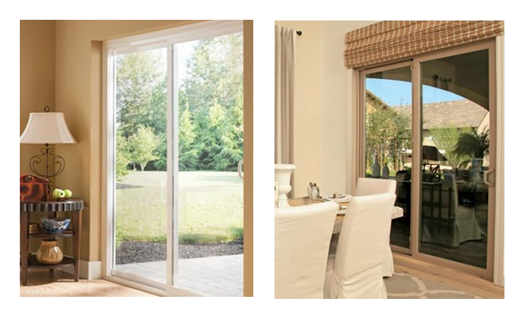 Style Line Series vinyl patio doors