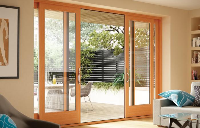 Milgard Essence Series Wood Doors