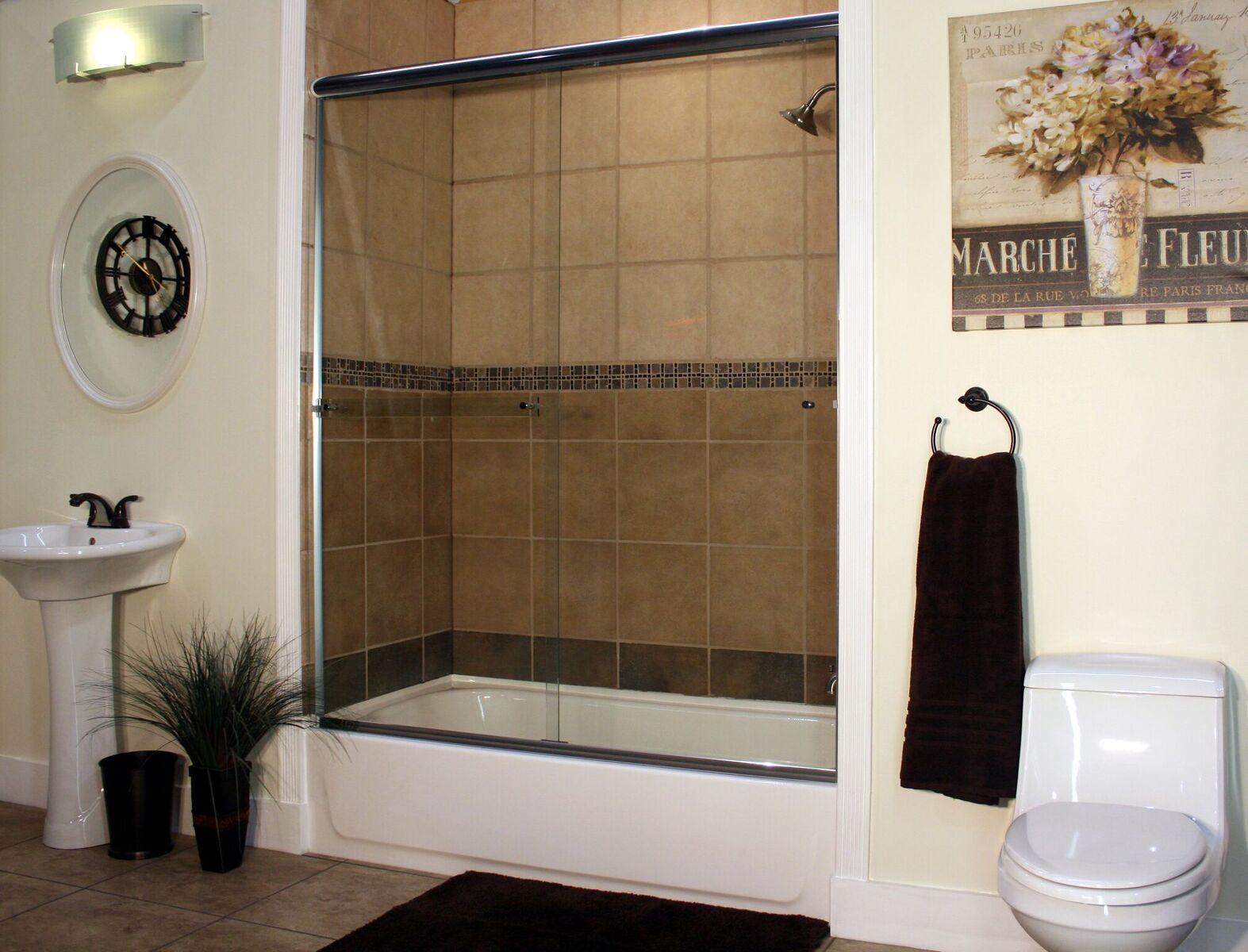 Semi Frameless Shower Enclosures Best Value Glass Inc