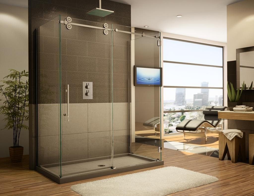 Barn Door Style Shower Doors Barn Door Sliding Door